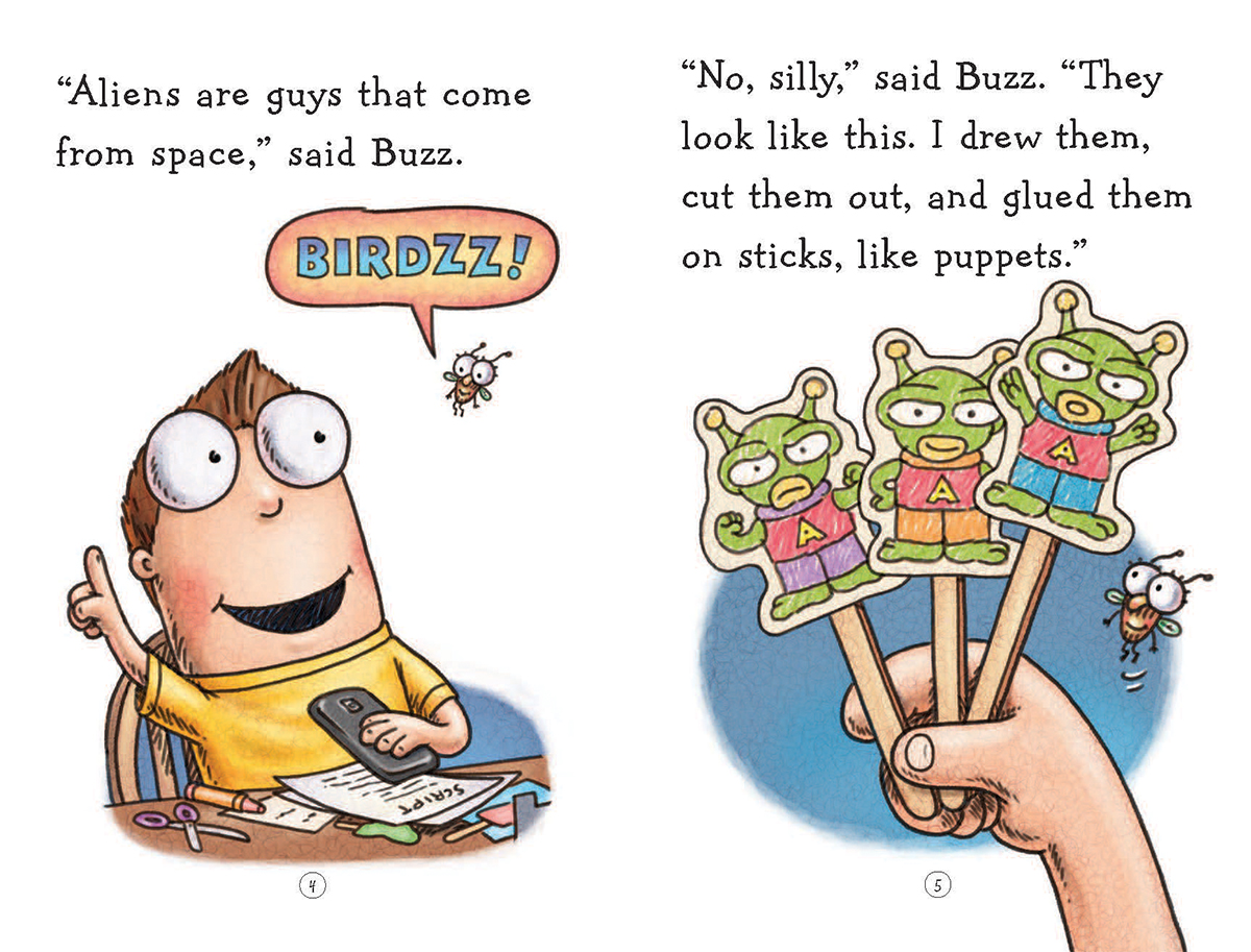 Fly Guy #18: Fly Guy and the Alienzz | Scholastic Canada