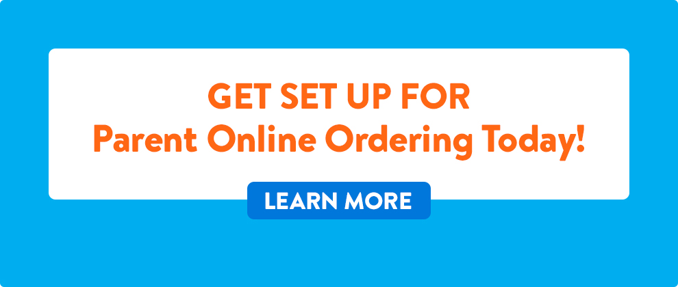 It's finally here!  Parents can now shop, order & pay online!