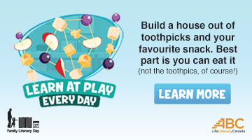 Learn at Play Everyday - Family Literacy Day